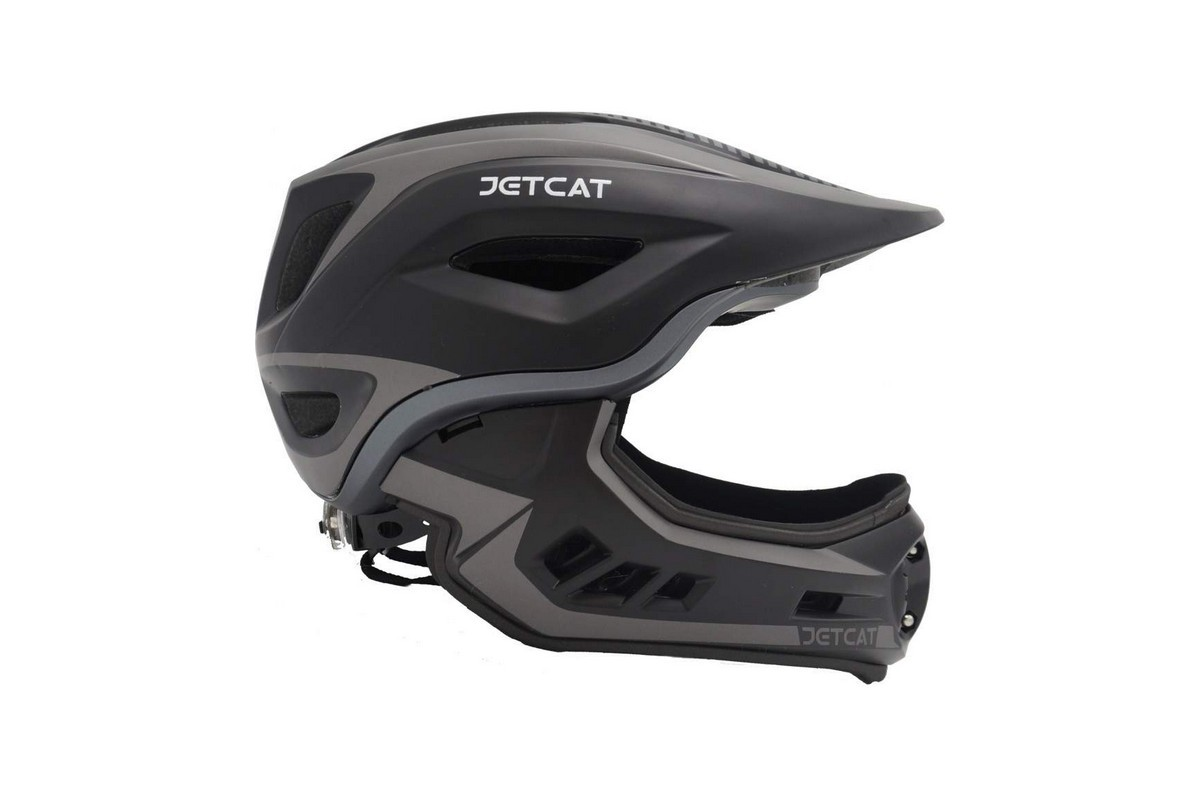 "Шлем детский FullFace ""JetCat"" Raptor (BlACK/GREY)"