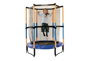 Батут HUDORA Safety Trampoline Jump in 3.0, 140 см (65596)
