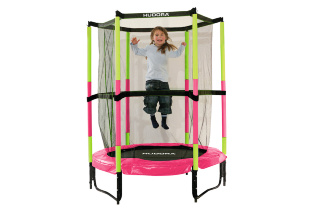 Батут HUDORA Safety Trampoline Jump in 3.0, 140 см (65609)